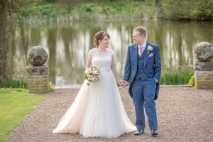 Outdoor vintage wedding in Stratford-Upon-Avon
