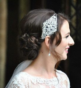 Vintage wedding hair accessory