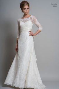 Louise Bentley wedding dresses with sleeves in Stratford Upon Avon