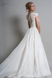 A-line Louise Bentley wedding dress in Warwickshire