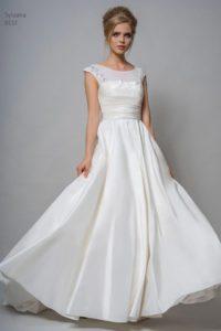 Bohemian wedding dress by Louise Bentley