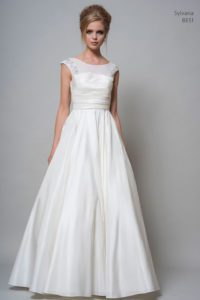 A-line wedding dress by Louise Bentley