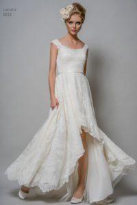 Modern wedding dress in Stratford, Warwickshire