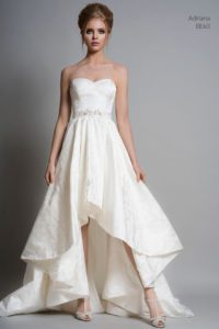 A-line wedding dress by Louise Bentley bridal designers