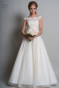 Louise Bentley wedding dresses at Boho Bride Boutique in Stratford, Warwickshire