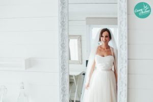 Designer wedding dress for the alternative bride in Stratford-Upon-Avon wedding dress shop