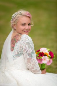 Sleeved lace wedding dress from Boho Bride in Stratford Upon Avon