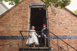 Tea length wedding dress from Boho Bride in Stratford