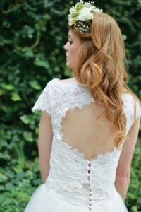 Designer bolero top by Ivory and Co at Boho Bride boutique in Warwickshire