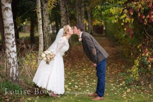 Wedding photography at outdoor wedding in Stratford-Upon-Avon