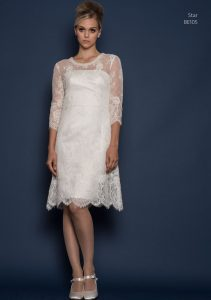 Louise Bentley designer lace wedding dresses in Stratford Upon Avon