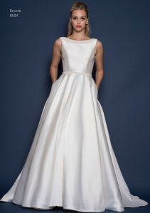 Satin wedding dress in Stratford Upon Avon