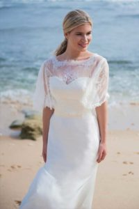 Designer bolero top by Ivory and Co at Boho Bride boutique in Stratford Upon Avon, Warwickshire