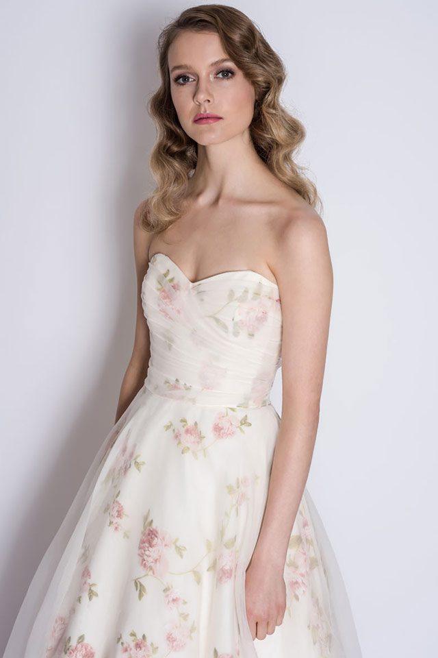 Loulou Bridal rose-covered wedding dresses Stratford