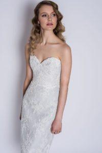 Sophisticated blue wedding dresses Stratford Upon Avon