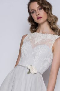Blue wedding dresses in Stratford