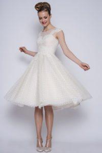 Unique wedding dress design at Boho Bride Boutique in Stratford