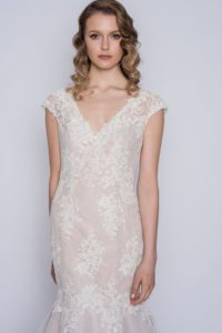 Lace wedding dresses by Loulou Bridal in Stratford
