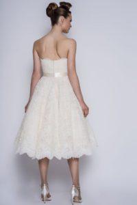 Short Loulou Bridal wedding dress at Stratford bridal shop
