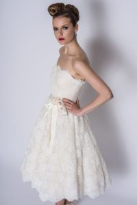Wedding dresses by Loulou Bridal at bridal boutique in Stratford