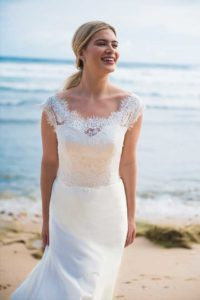 by Ivory and Co alternative wedding dresses in Stratford-Upon-Avon, England