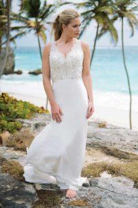 Unique summer wedding dresses with sweetheart neckline in Stratford