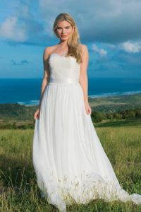 A-line silhouette wedding dress in Stratford-Upon-Avon, England