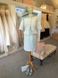 Mother of the bride bespoke tailored outfits in Stratford Upon Avon