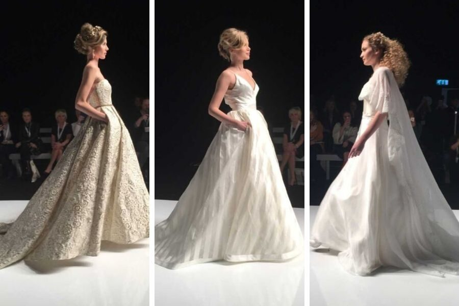 Hot from Bridal Fashion Week