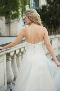 Dangerous Liaison by Ivory and Co strapless summer wedding dresses in North England