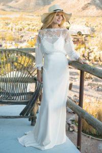 Bohemian Bolero by Ivory and Co elegant summer wedding dresses in North England