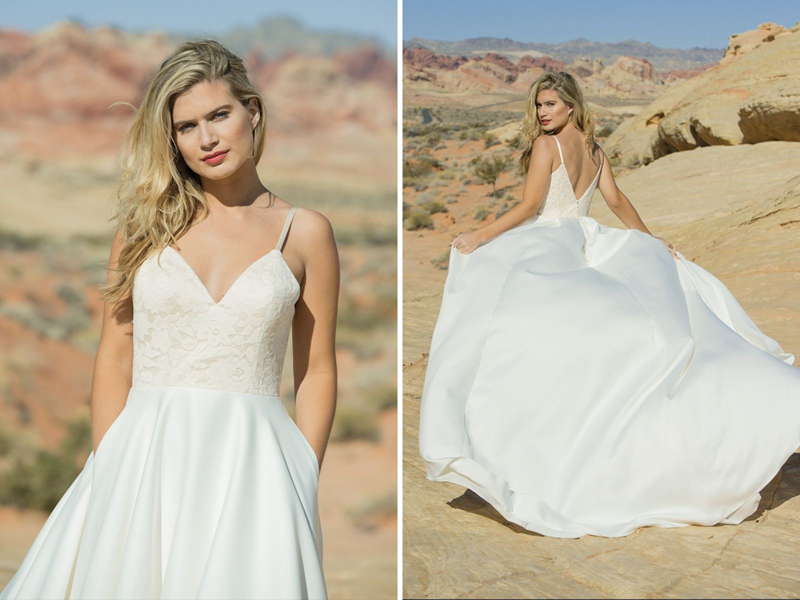 Summer wedding dresses by Ivory and Co