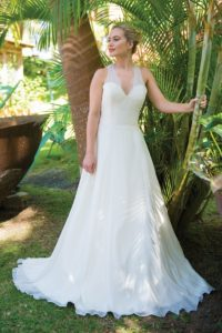 Palm Whisper Front by Ivory and Co designer wedding dresses in Stratford-Upon-Avon