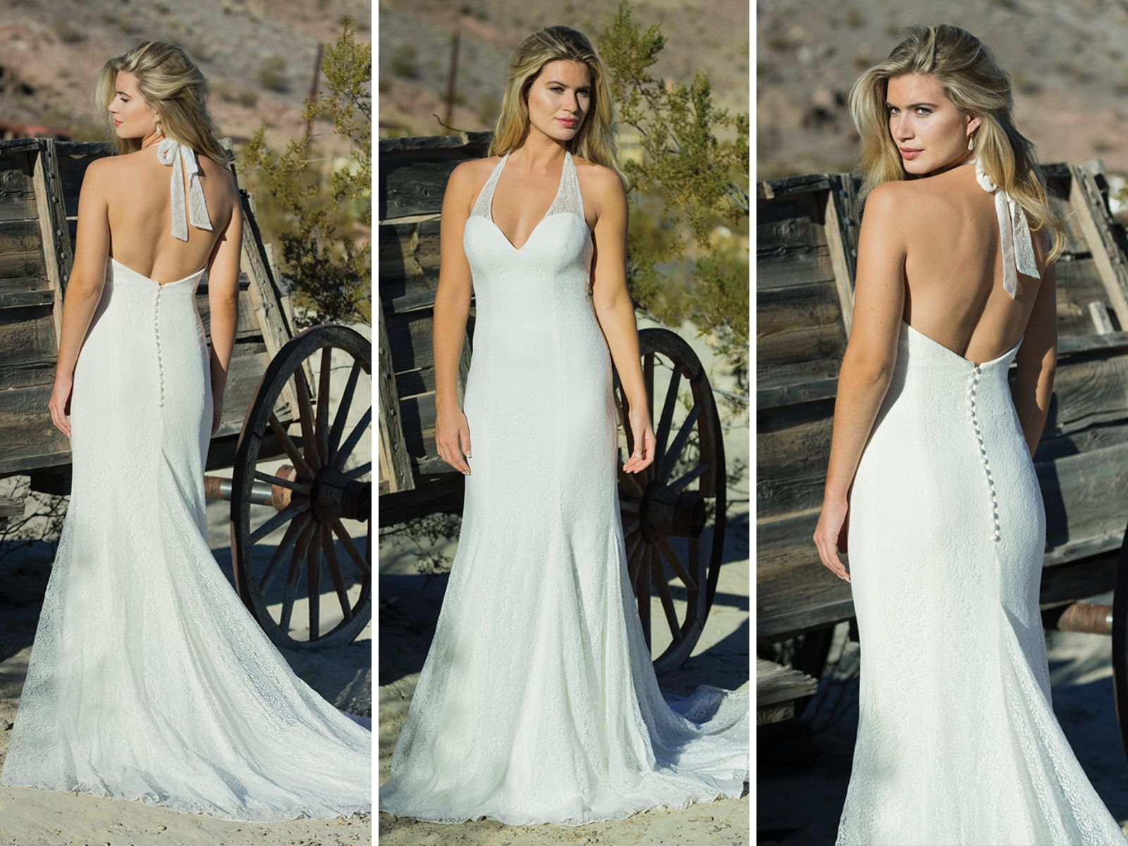 Willowherb wedding dress by Ivory and Co