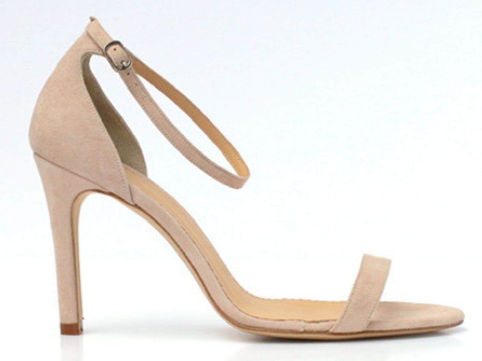 Di Hassall wedding shoes with strap