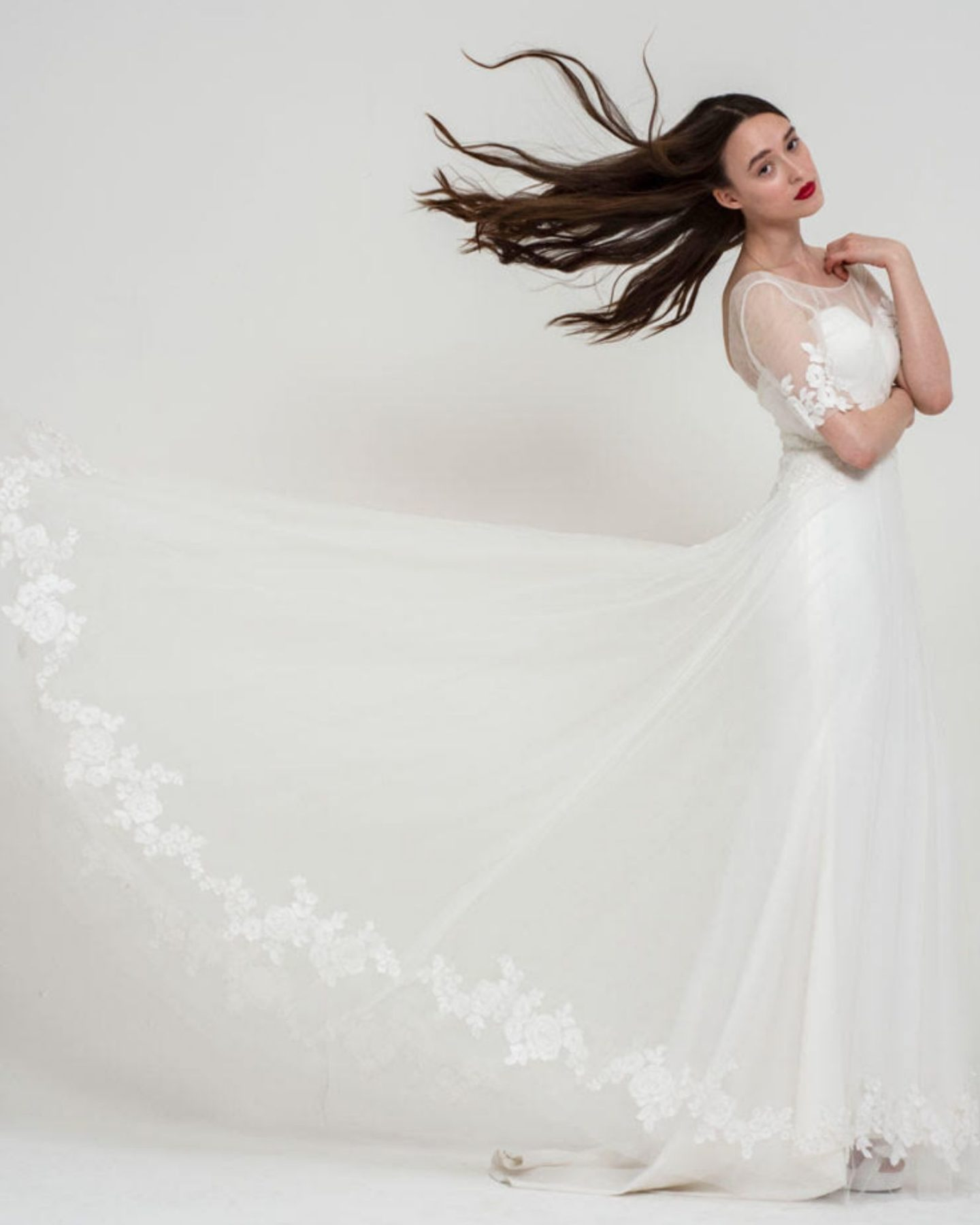 Freda Bennet wedding dress at Boho Bride