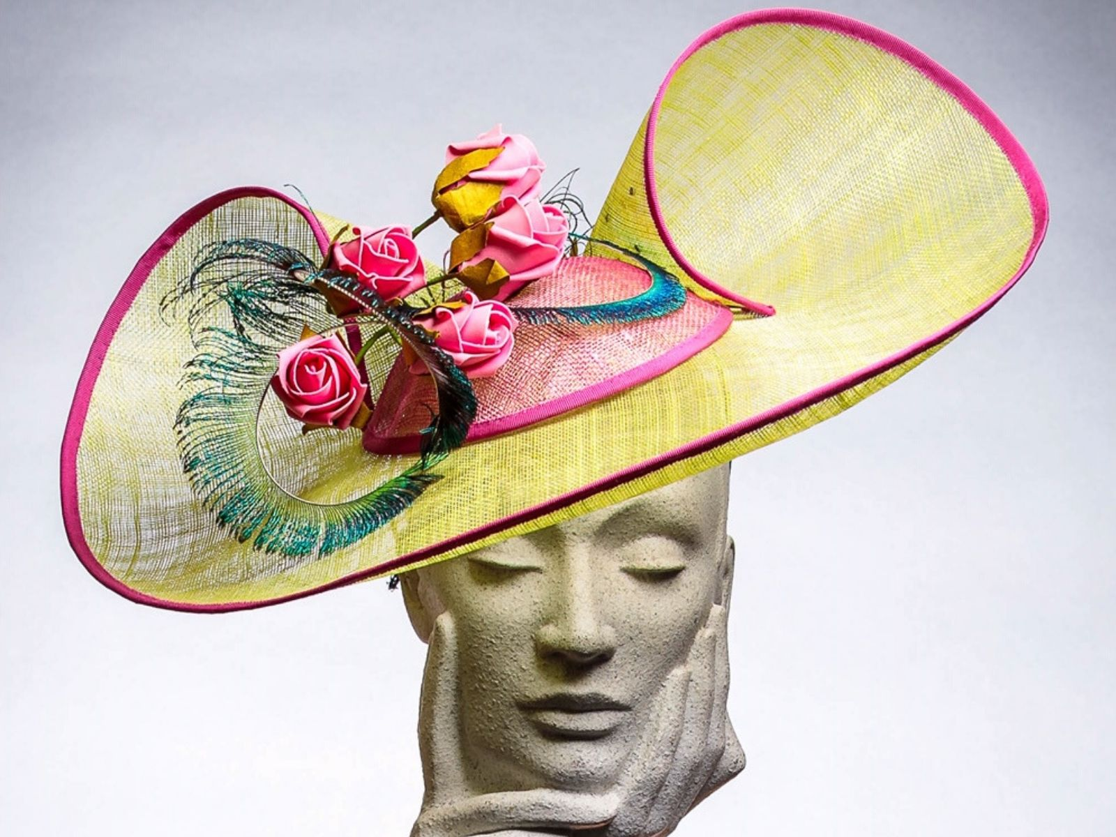 Wedding hat by Milliner Kerry Kernan