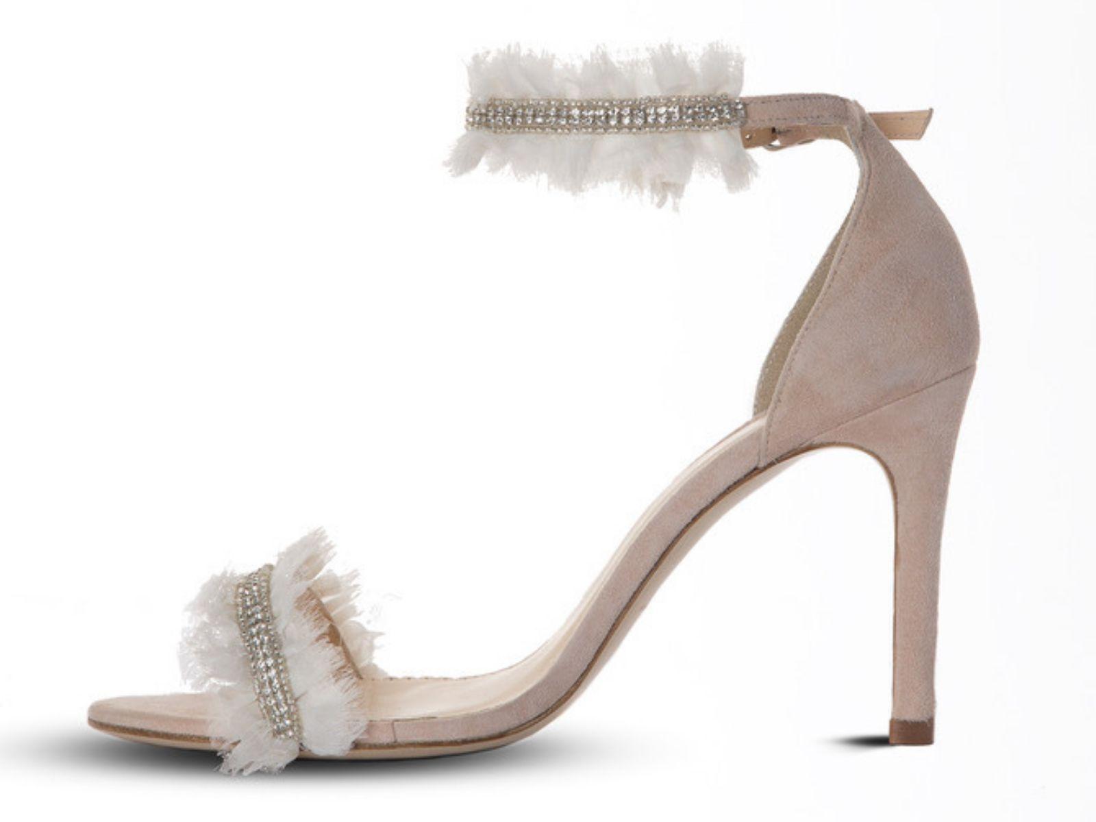 Amarine bohemian wedding shoe Boho bride boutique