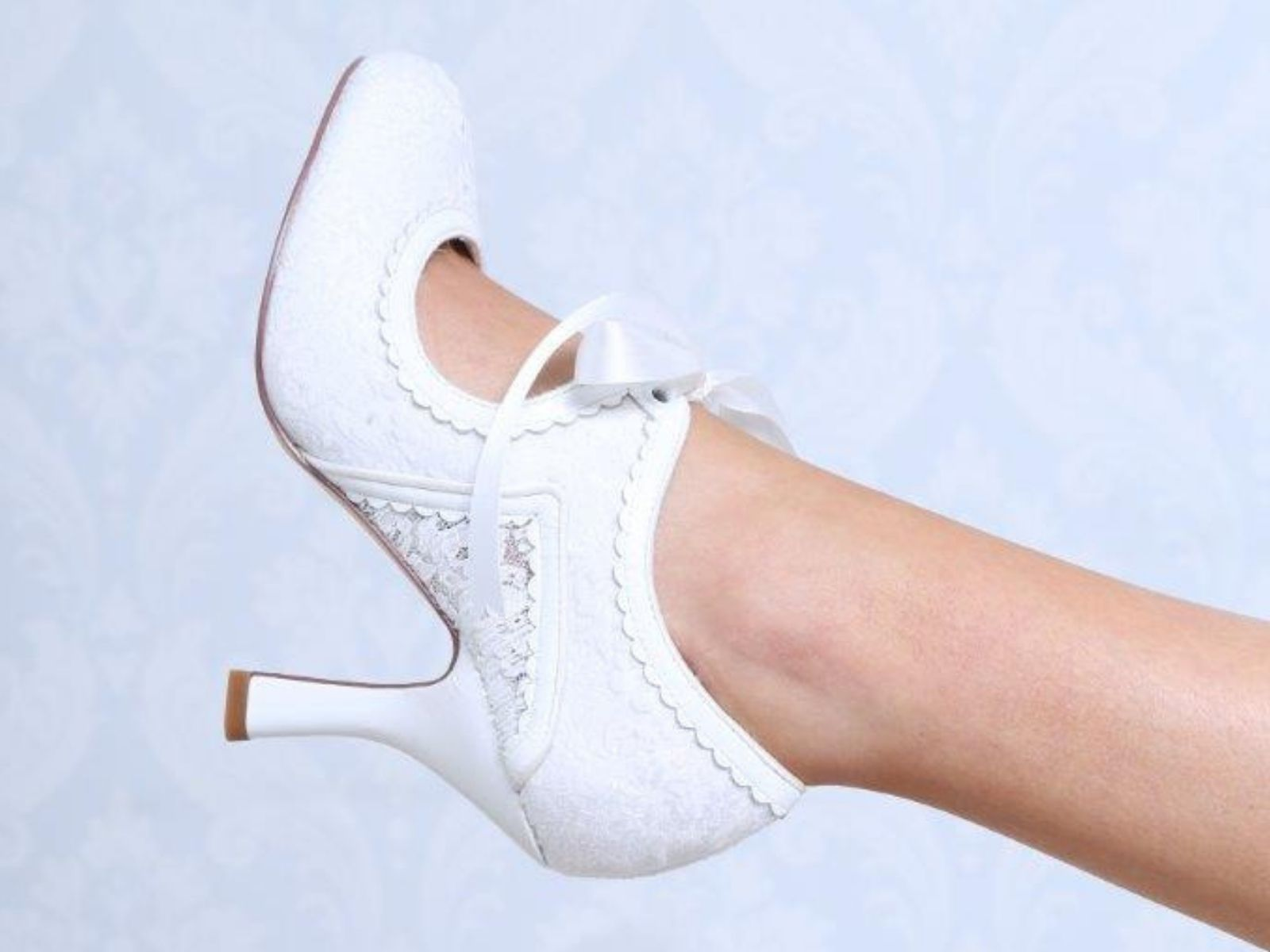 Bianca vintage wedding shoes by Perfect Bridal Company