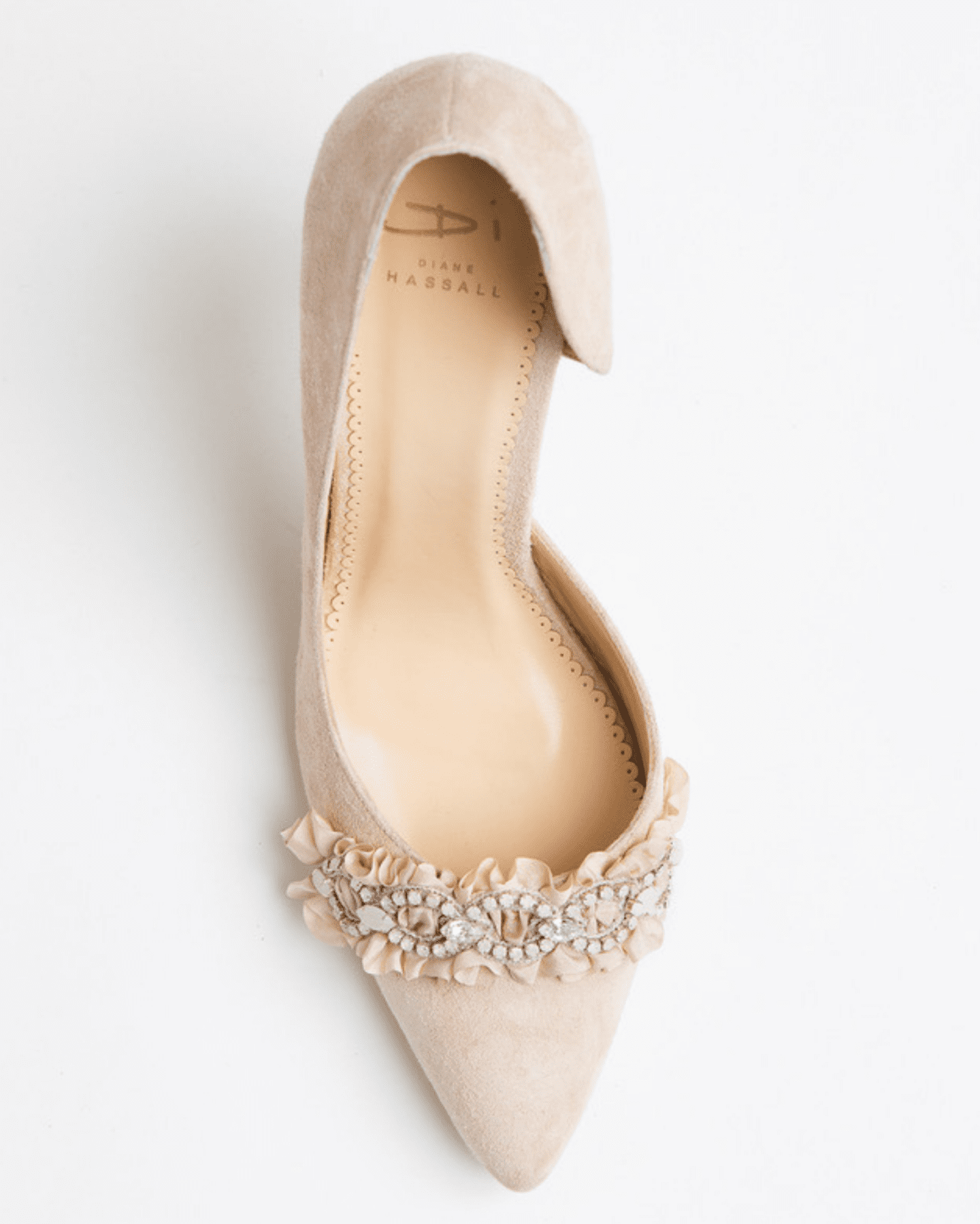 Diane Hassall bridal wedding shoes china doll at Boho Bride boutique