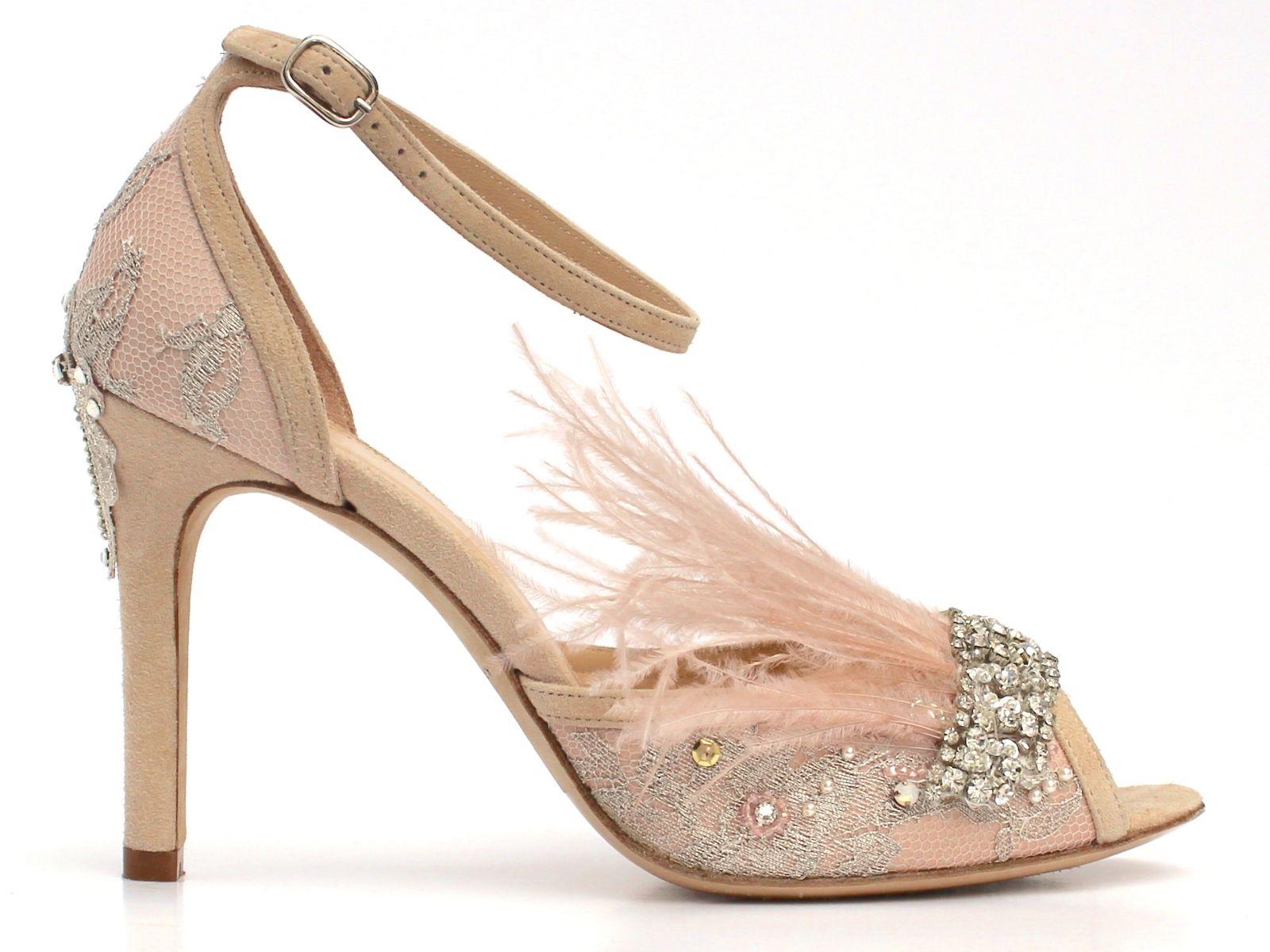 Nettie vintage wedding shoes Boho Bride boutique