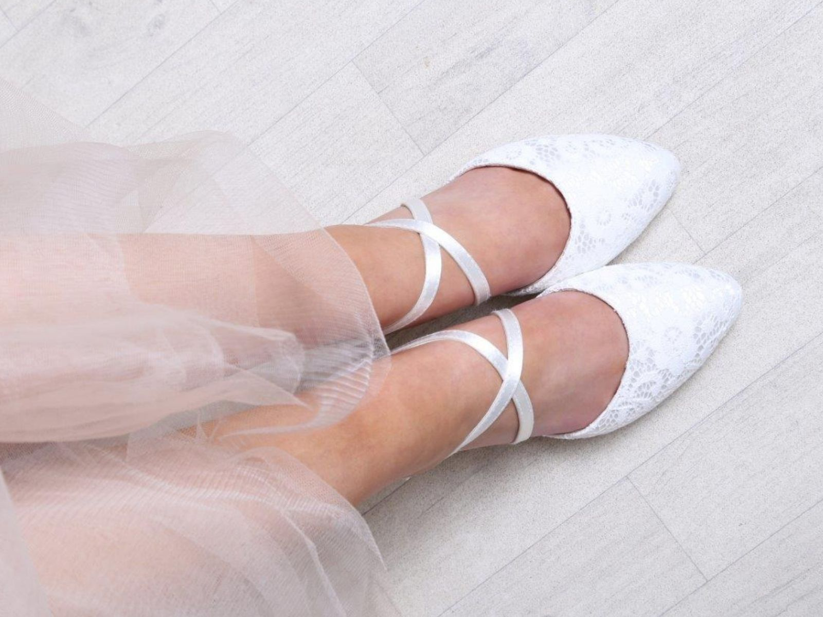 Renate lace wedding shoes Perfect Bridal Company