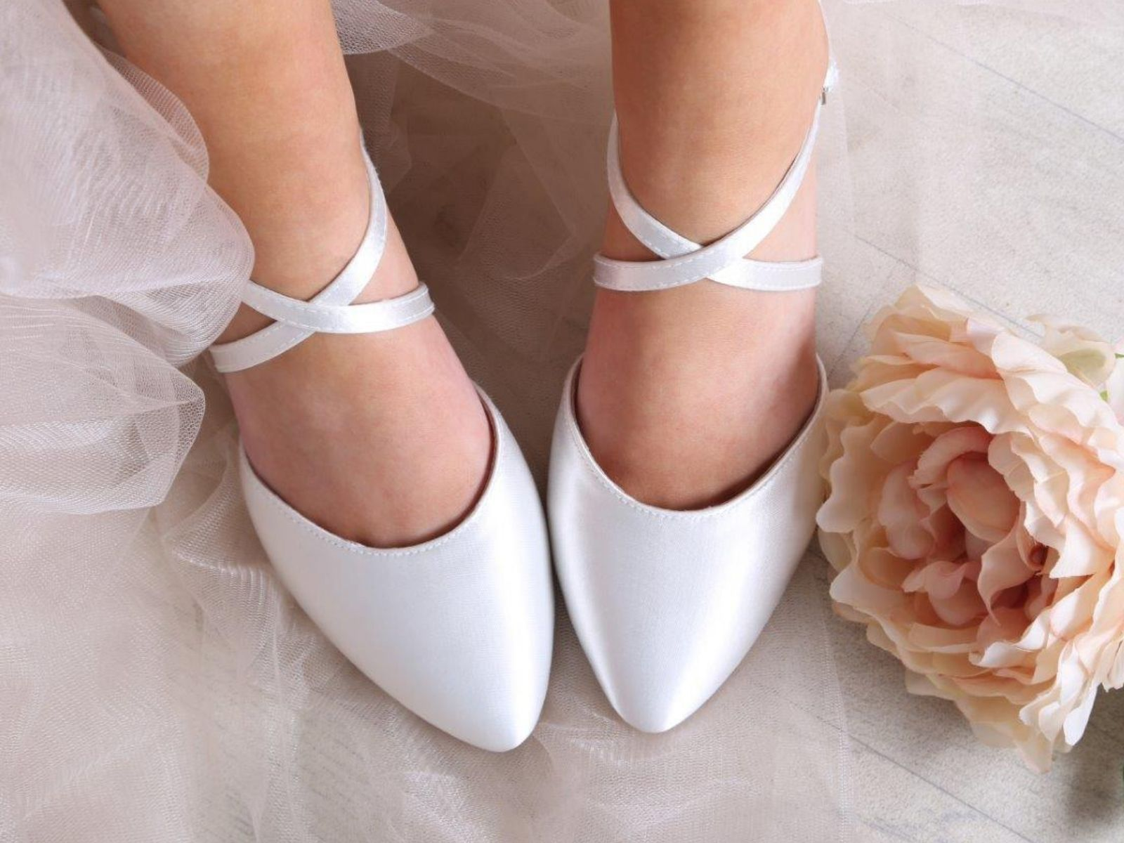 Renate wedding shoes Perfect Bridal Company