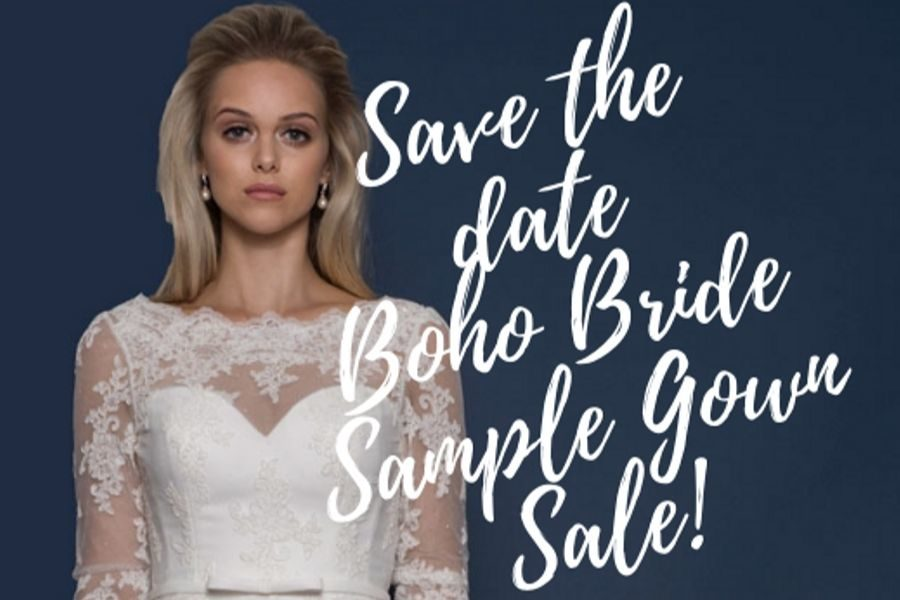 Boho Bride Fabulous Sample Gown Sale