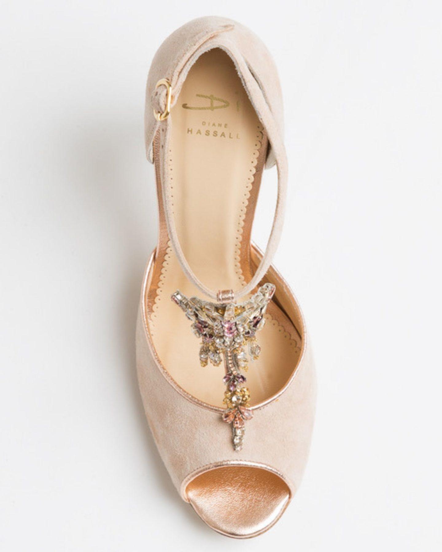 Tutti Frutti vintage and bohemian wedding shoes Boho Bride