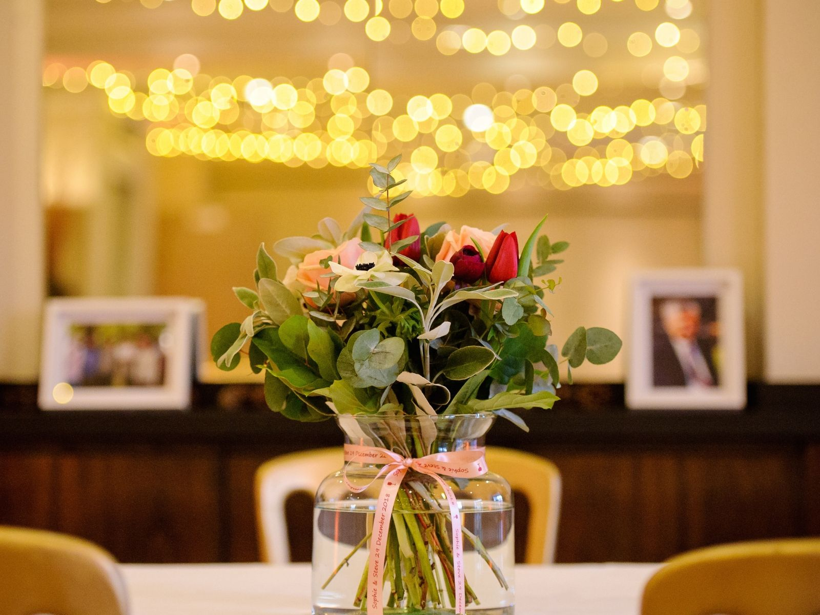 Winter wedding at Bingham hotel in Richmond London
