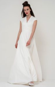 Freda Bennett structured wedding dress Warwickshire