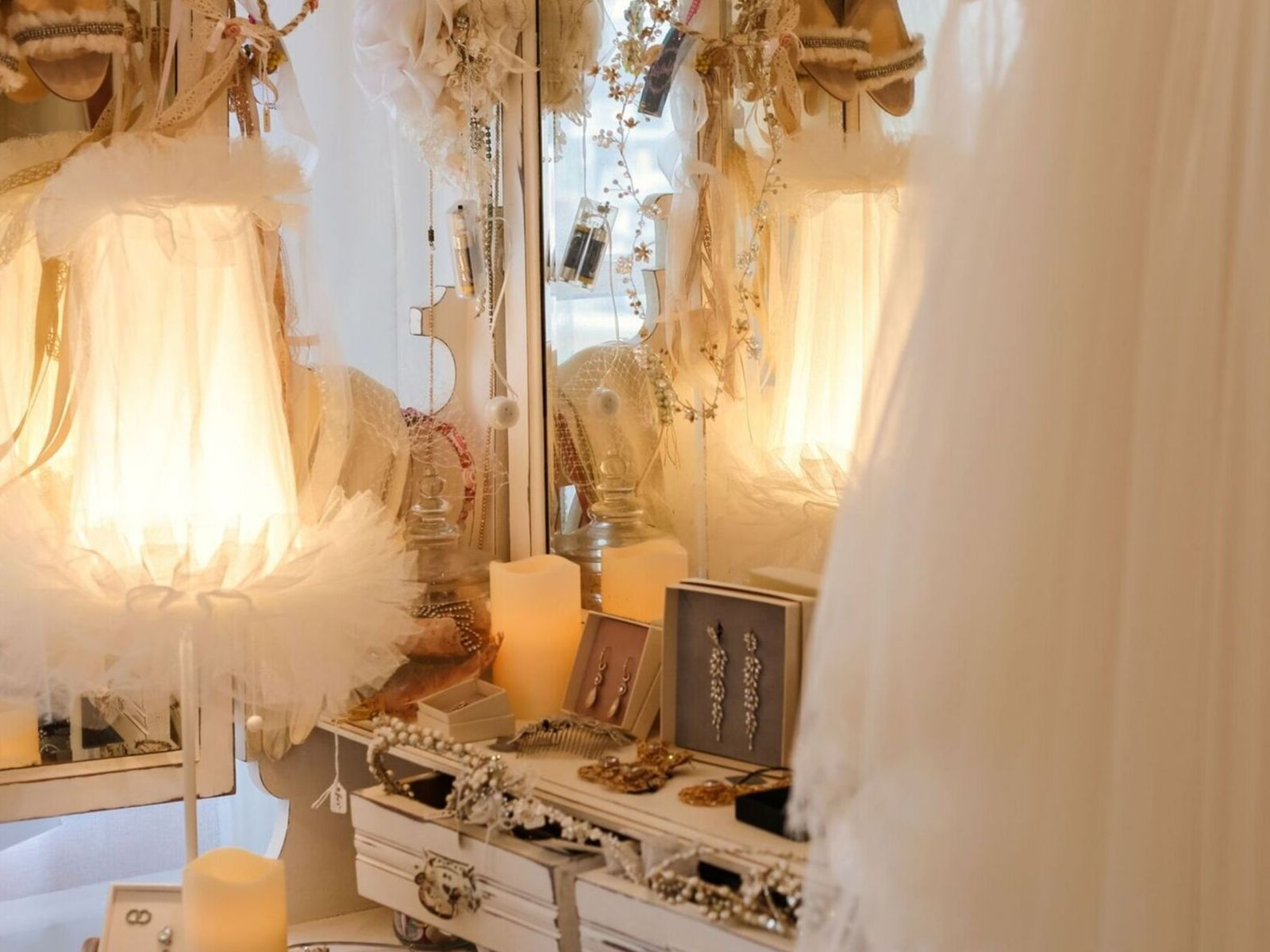 Wedding accessories at Boho Bride Boutique