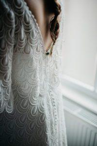 Unique wedding dress from Warwickshire bridal boutique