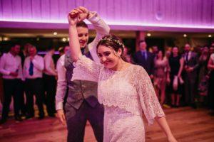flattering wedding dress made bespoke at stratford-upon-avon bridal shop